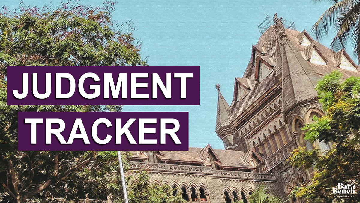 Bombay High Court Judgment Tracker: September 2020