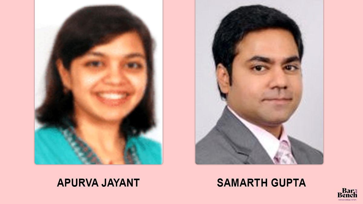Apurva Jayant, Samarth Gupta