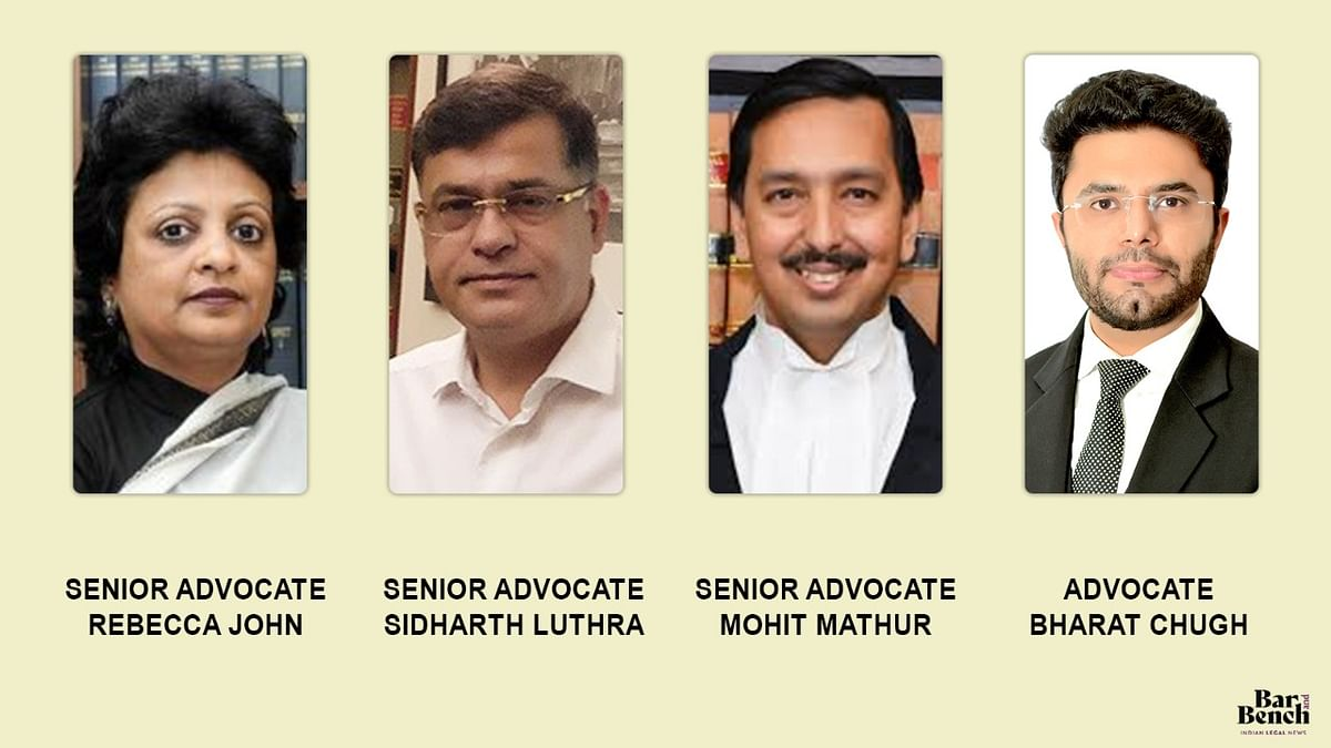 We represent causes that may be unpalatable to many: Sidharth Luthra, Rebecca John, Mohit Mathur speak on Career in Criminal Law Practice