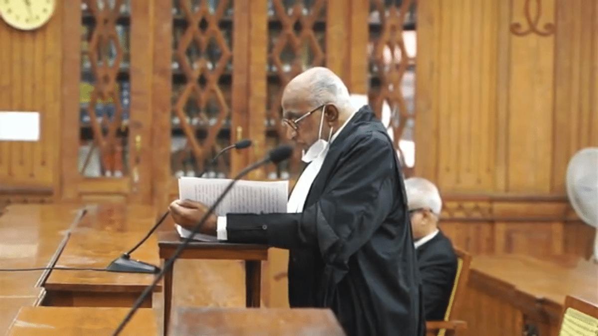 Advocate General CP Sudhakara Prasad