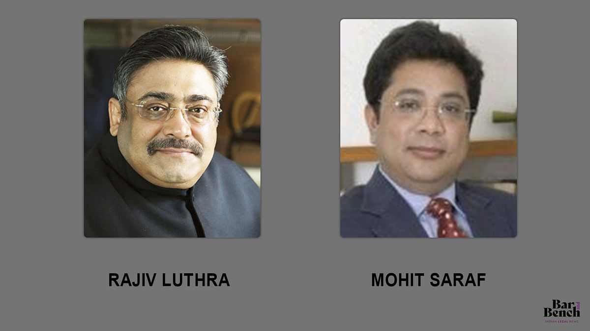 Rajiv Luthra, Mohit Saraf begin mediation before Senior Advocate Sriram Panchu