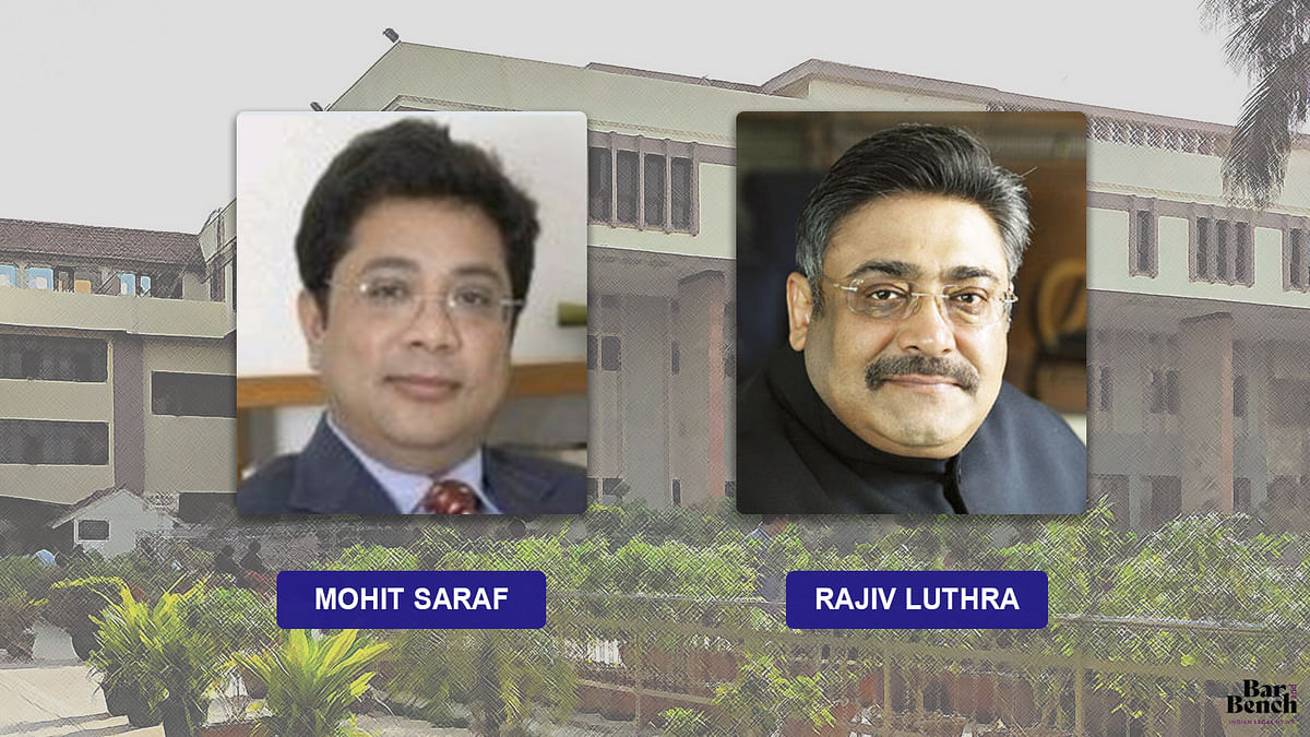 Dispute with Rajiv Luthra not an ego battle, focus is to professionalize L&L Partners: Mohit Saraf before Delhi High Court