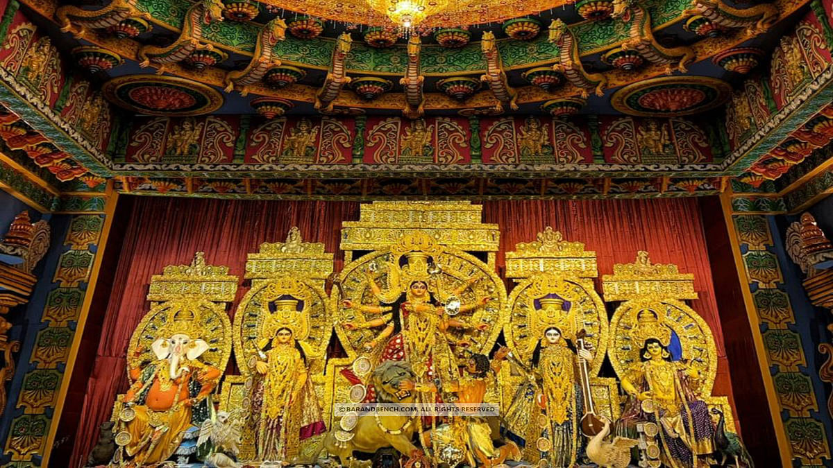 Durga Puja: Calcutta High Court tweaks earlier order, eases COVID-19 restrictions for entry into puja pandals to a limited extent