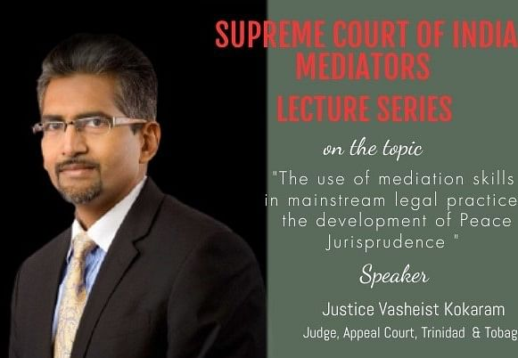 Webinar Alert: Justice V Kokaram on the development of Peace Jurisprudence (Oct 20)