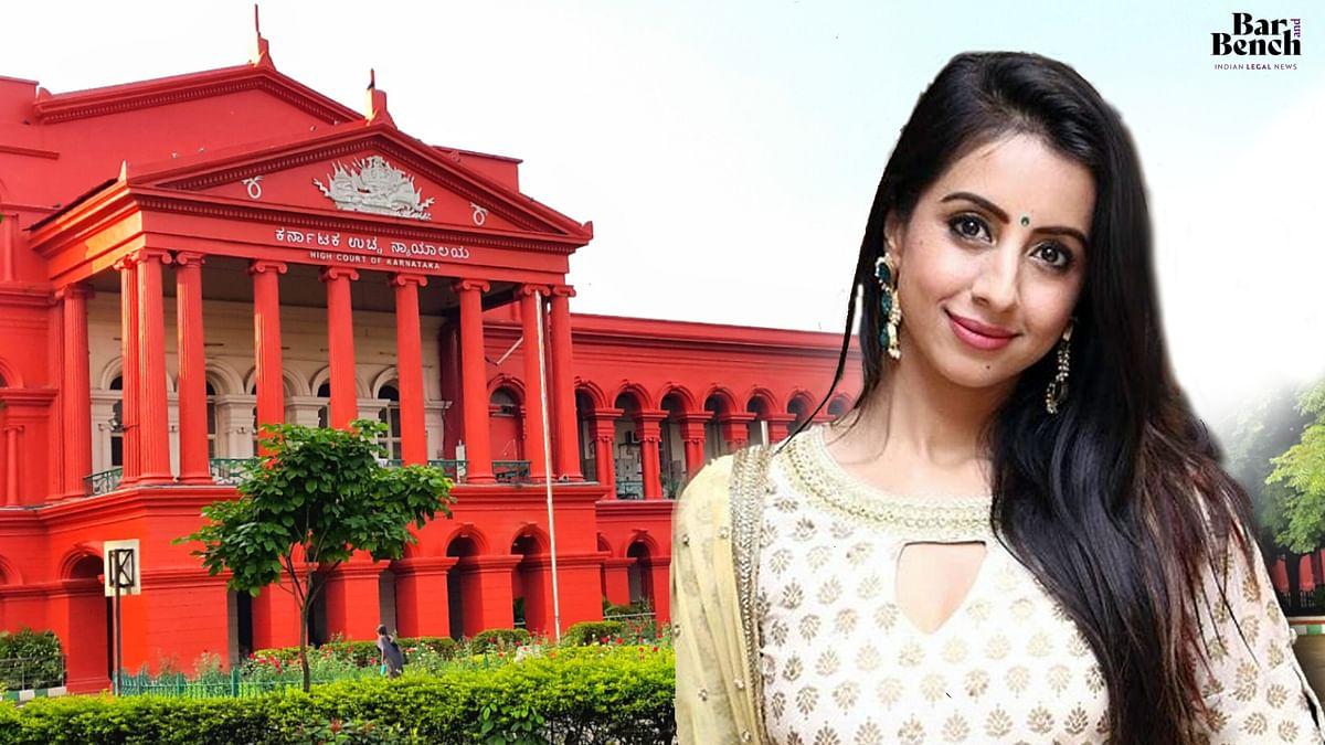 [Sandalwood Drug Scandal] Sanjjanna Galrani moves Karnataka High Court seeking bail on medical grounds; Court directs detailed medical check-up