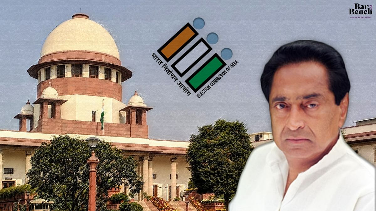 Former Madhya Pradesh CM Kamal Nath moves Supreme Court against EC decision to delist him as 'Star Pracharak' for upcoming by-elections