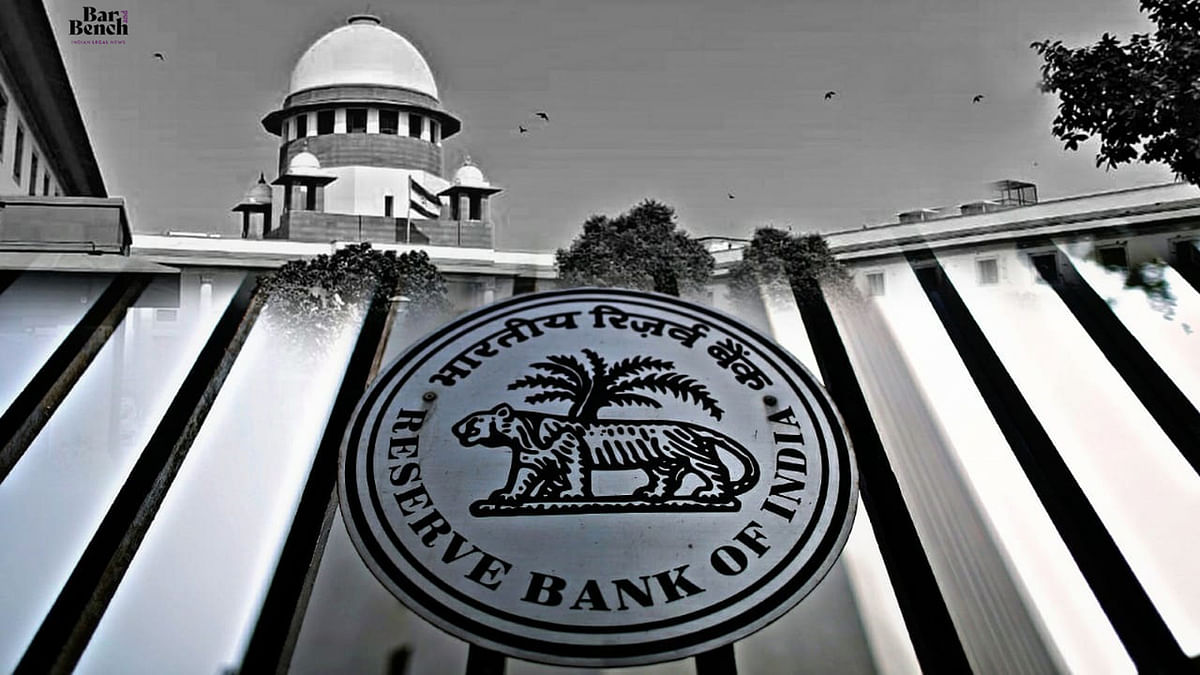 [Data Protection on UPI platforms] NPCI, not RBI responsible to ensure Amazon, Google, Whatsapp comply with UPI regulations: RBI to SC