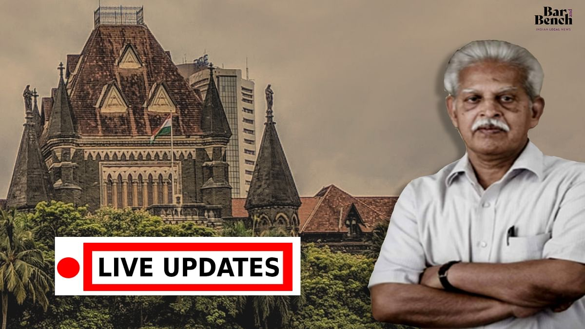 Bombay High Court hears plea seeking bail for Dr Varavara Rao on medical grounds [LIVE UPDATES]