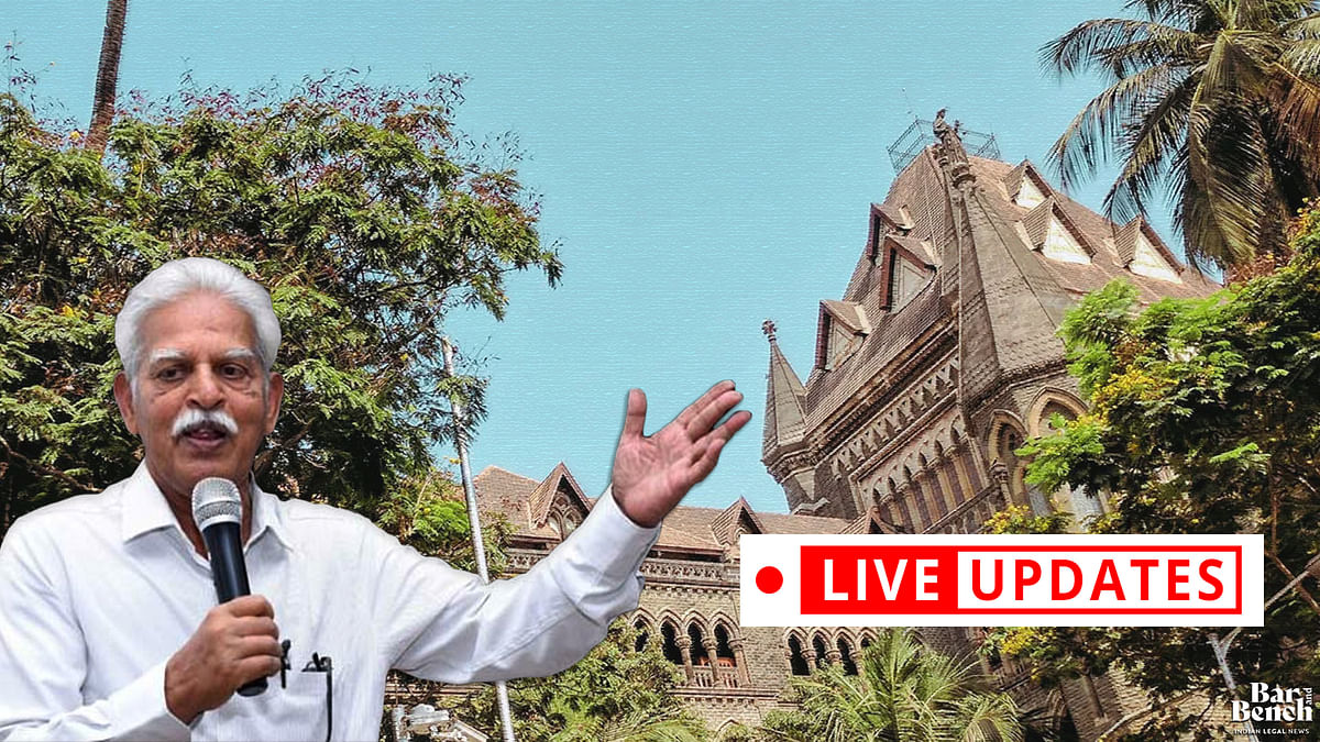 Plea to grant Dr Varavara Rao bail on medical grounds: LIVE UPDATES from Bombay High Court