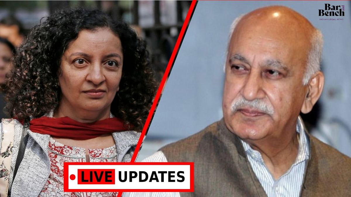 MJ Akbar v. Priya Ramani: Geeta Luthra rebuts Ramani's final submissions [Live Updates from Delhi Court]