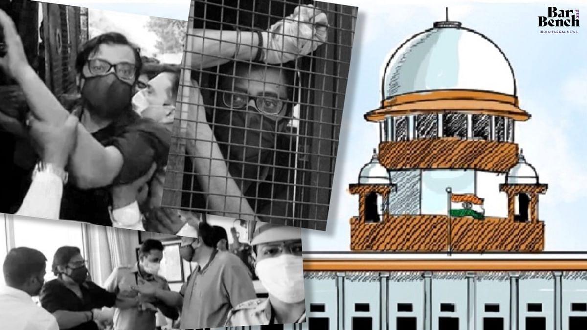 Arnab Goswami, Alibaug Court