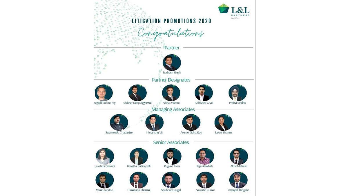 L&L Partners announces promotions in Litigation team