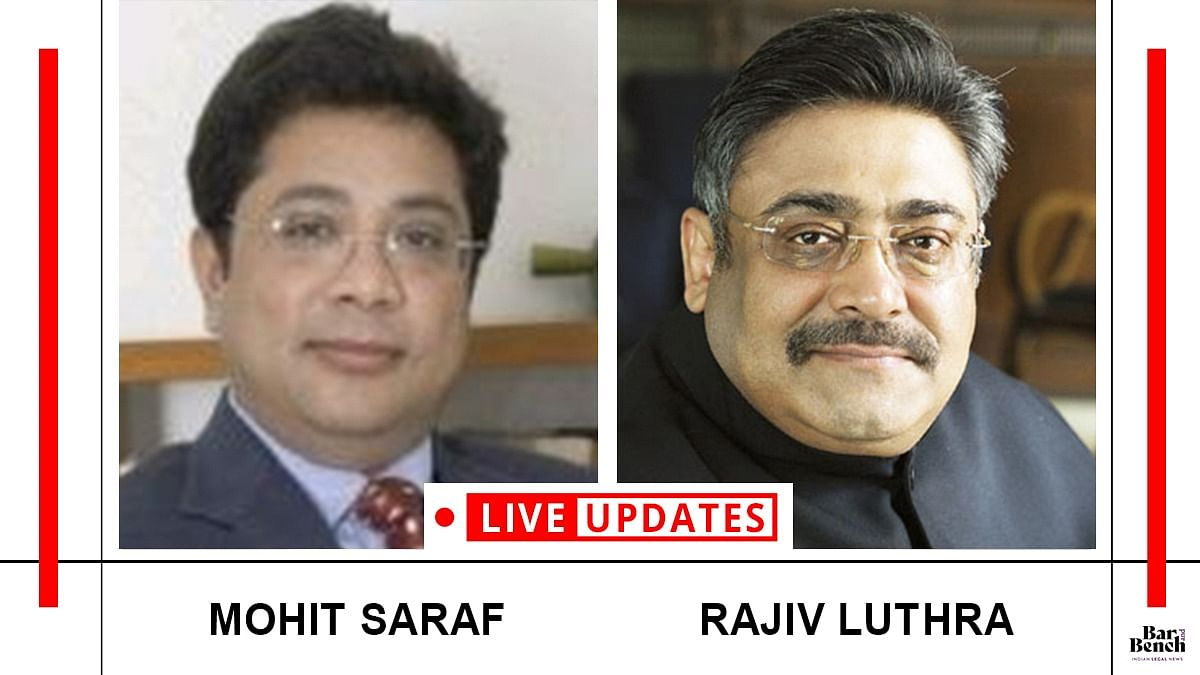 Delhi High Court hears Rajiv Luthra's appeal against order staying Mohit Saraf's termination from L&L [LIVE UPDATES]