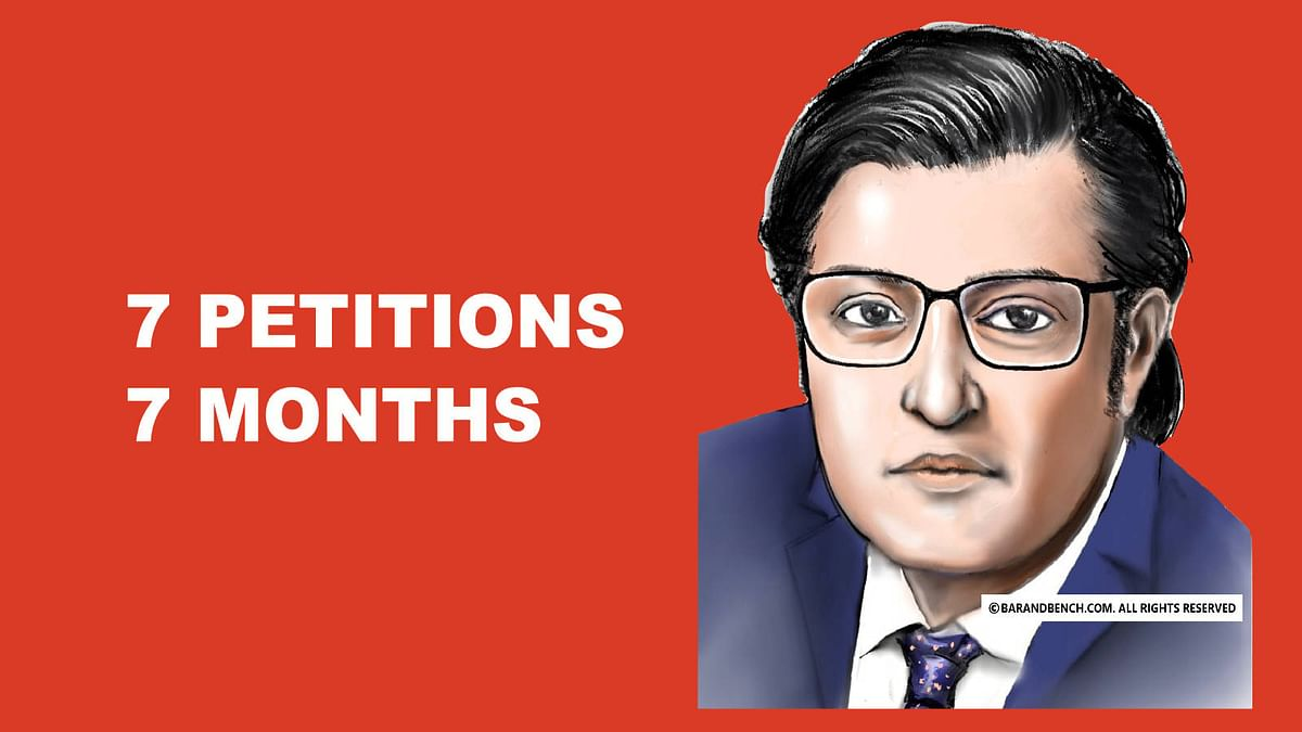 Seven petitions in seven months: Arnab Goswami's litigation in the Supreme Court and the Bombay High Court