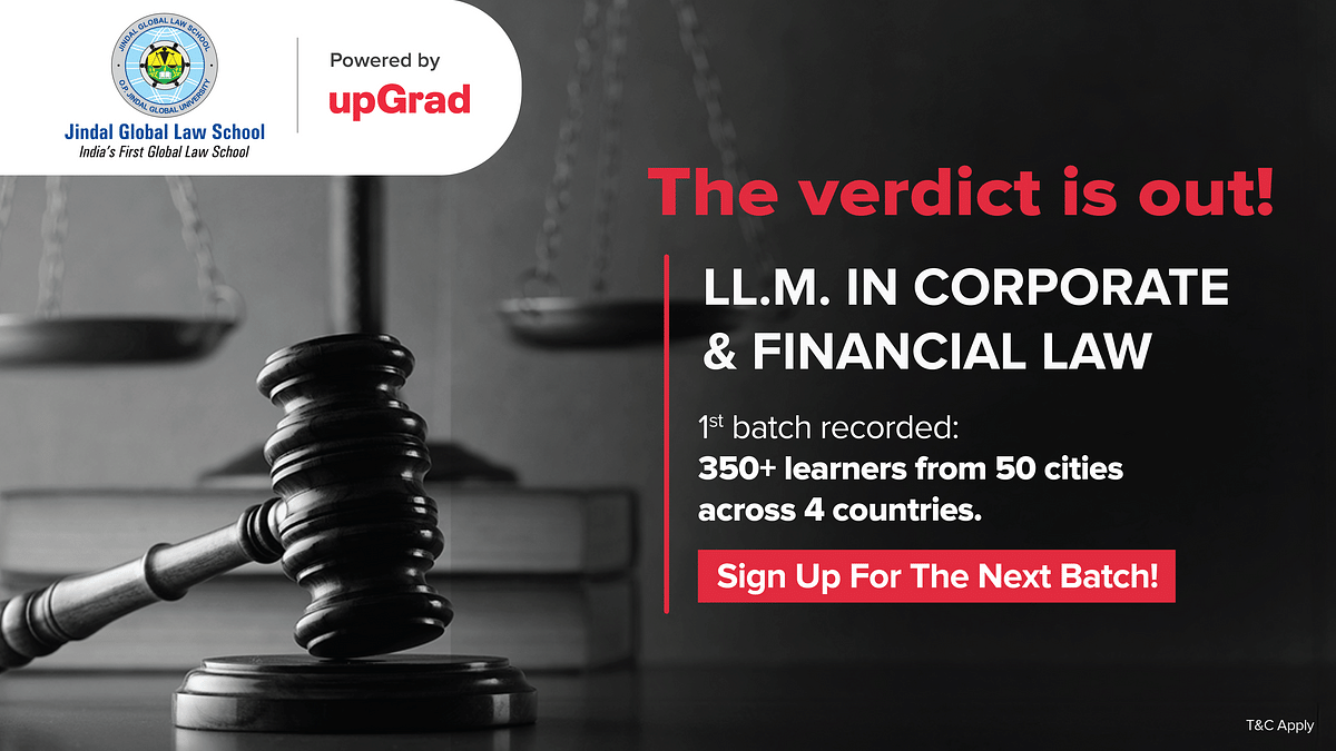 #Sponsored: LL.M. In Corporate & Financial Law - To Pursue Or Not To?