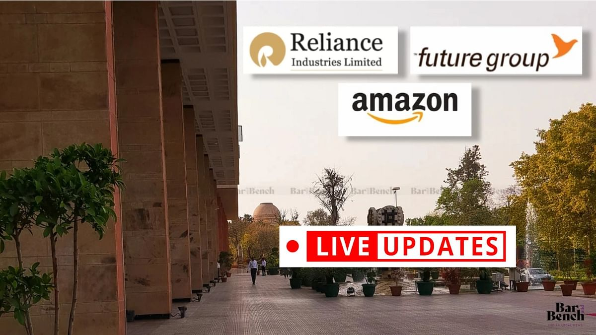 Future Retail's suit against Amazon: LIVE UPDATES from Delhi High Court [Day 5]