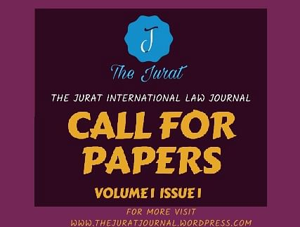 Call for Papers: The Jurat International Law Journal (Submit by Dec 01)