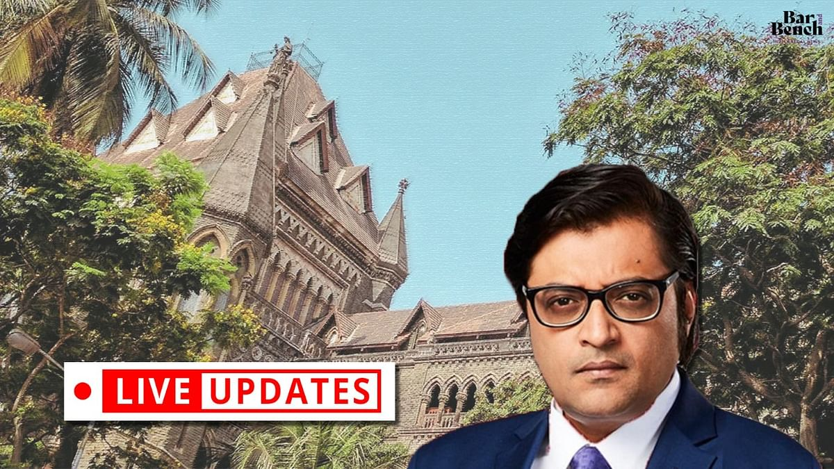 Arrest of Arnab Goswami: Bombay High Court hears habeas corpus plea [LIVE UPDATES]