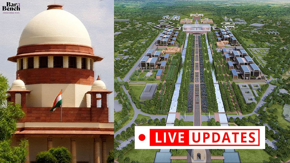 [Central Vista Project] Centre welcomes scrutiny but must be allowed some leeway, argues Tushar Mehta in Supreme Court: LIVE UPDATES