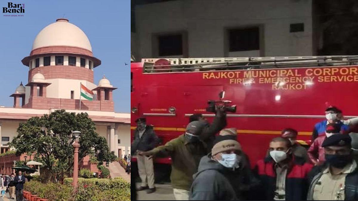 "[BREAKING] ""Shocking"": Supreme Court takes suo motu cognisance of Rajkot hospital fire, seeks response from Gujarat"