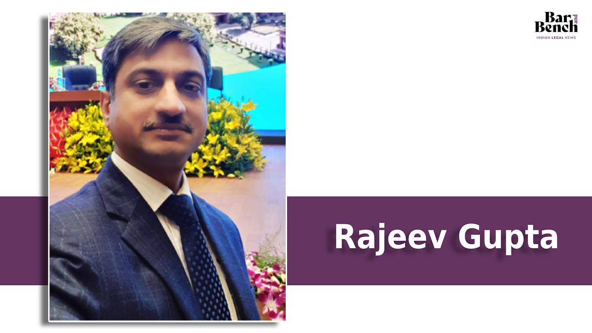 Rajeev Gupta appointed Principal Secretary to Chief Justice of Jammu & Kashmir High Court