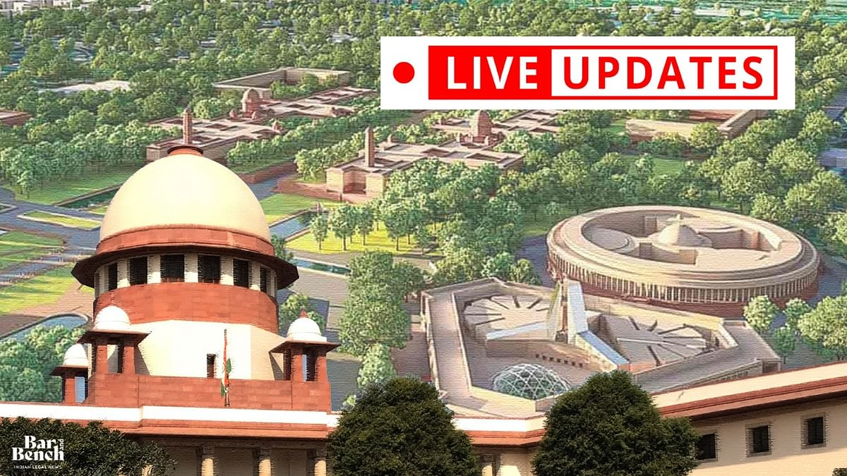 Supreme Court hears challenge to the Central Vista Project [LIVE UPDATES]