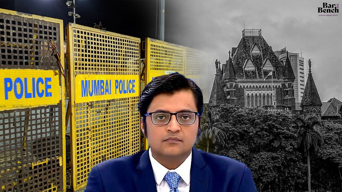 Act of revenge for news coverage questioning those in power: Arnab Goswami files habeas corpus plea in Bombay High Court