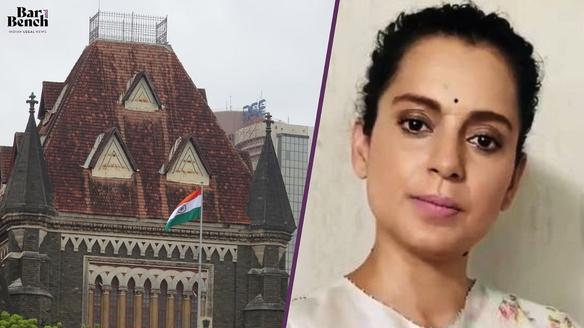 "[Breaking] ""Nothing but malice in law"": Bombay High Court quashes BMC demolition notice to Kangana Ranaut"
