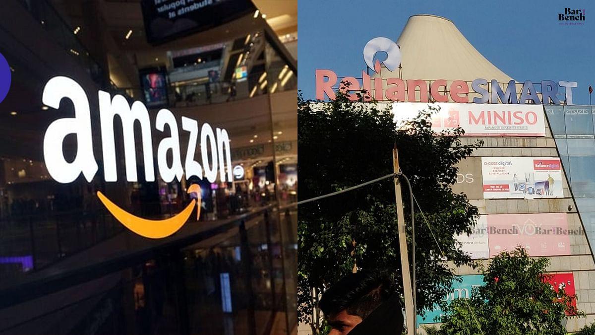 Future v. Amazon, Live from Delhi HC