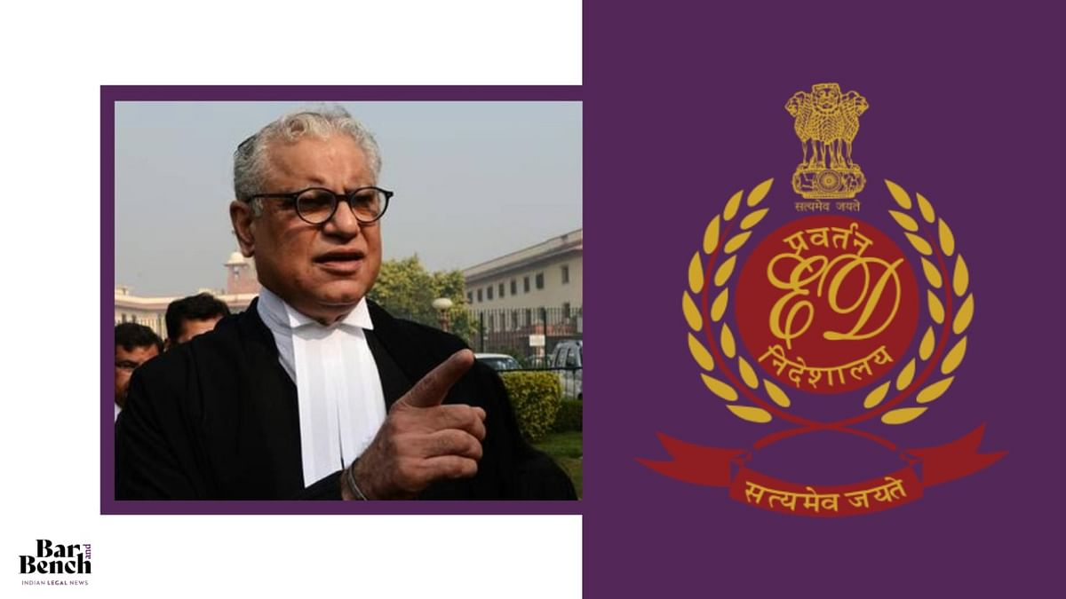 ED not to insist on Anand Grover's appearance in alleged money laundering case against Lawyers Collective till December 14: Bombay High Court