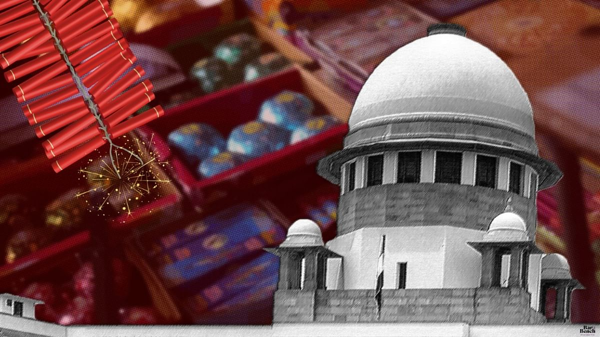 Do you need IIT report to understand fire crackers impact your health? Ask someone staying in Delhi what happens during Diwali: Supreme Court