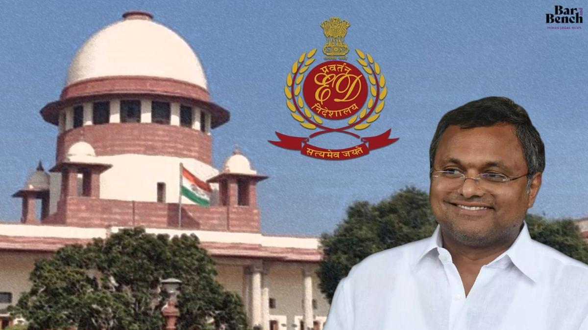 Transfer of Tax Evasion case to MP/MLA court: Supreme Court seeks IT Dept response in plea by Karti Chidambaram