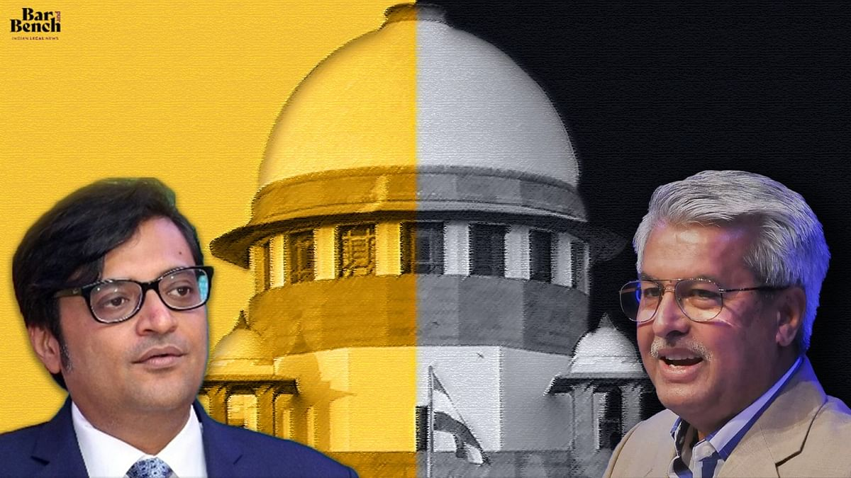 """Is there a special direction from CJI?"" Senior Adv Dushyant Dave questions SC Registry on urgent listing of Arnab Goswami's plea"