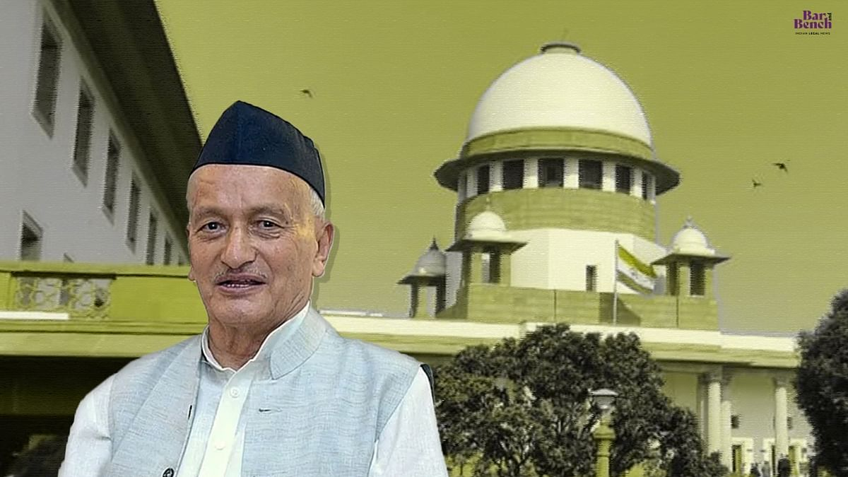 Supreme Court stays contempt notice against Governor Bhagat Singh Koshiyari for not paying market rent for bungalow