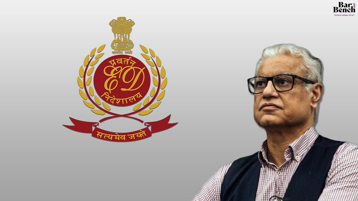 We need to respect humanity: Bombay High Court asks ED if it can defer summons issued to Sr. Adv. Anand Grover in view of COVID-19 pandemic