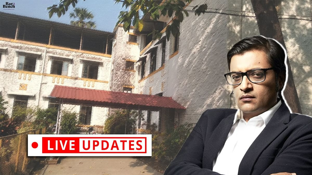 [Arrest of Arnab Goswami] Alibaug Court hears plea for police custody and related matters: LIVE UPDATES