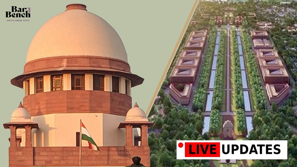 No arbitrariness or favouritism in selection of consultant: SG Tushar Mehta continues defence of Central Vista Project in SC [LIVE UPDATES]