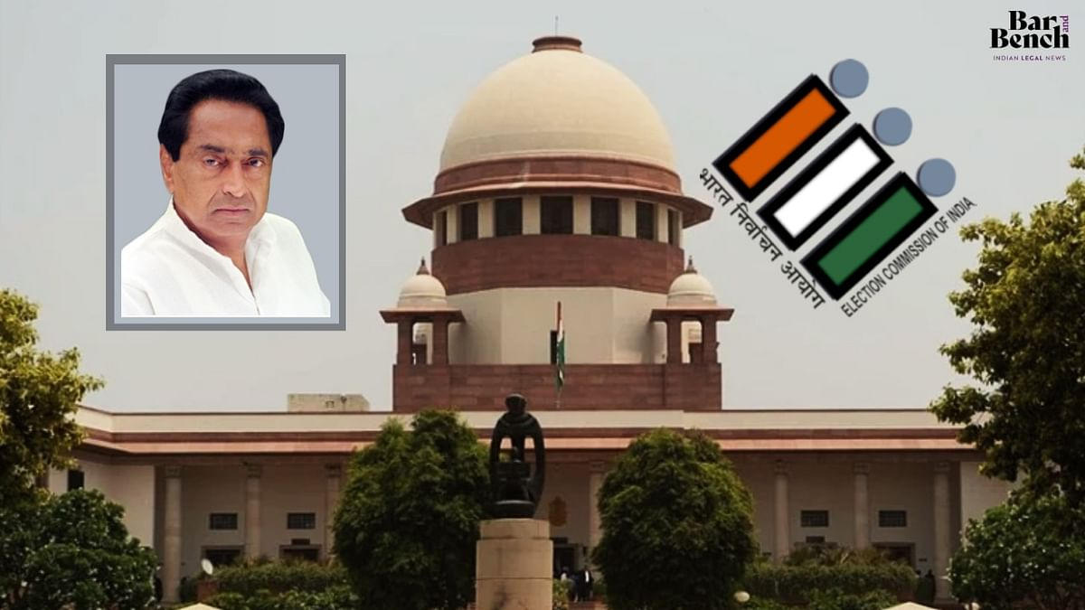 Who has given ECI the power to decide who will be leader of a party? SC stays order delisting Kamal Nath as star campaigner for MP by-elections