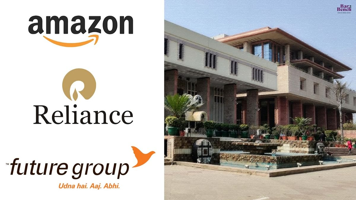 Reliance industries limited, Future group, Amazon, Delhi HC