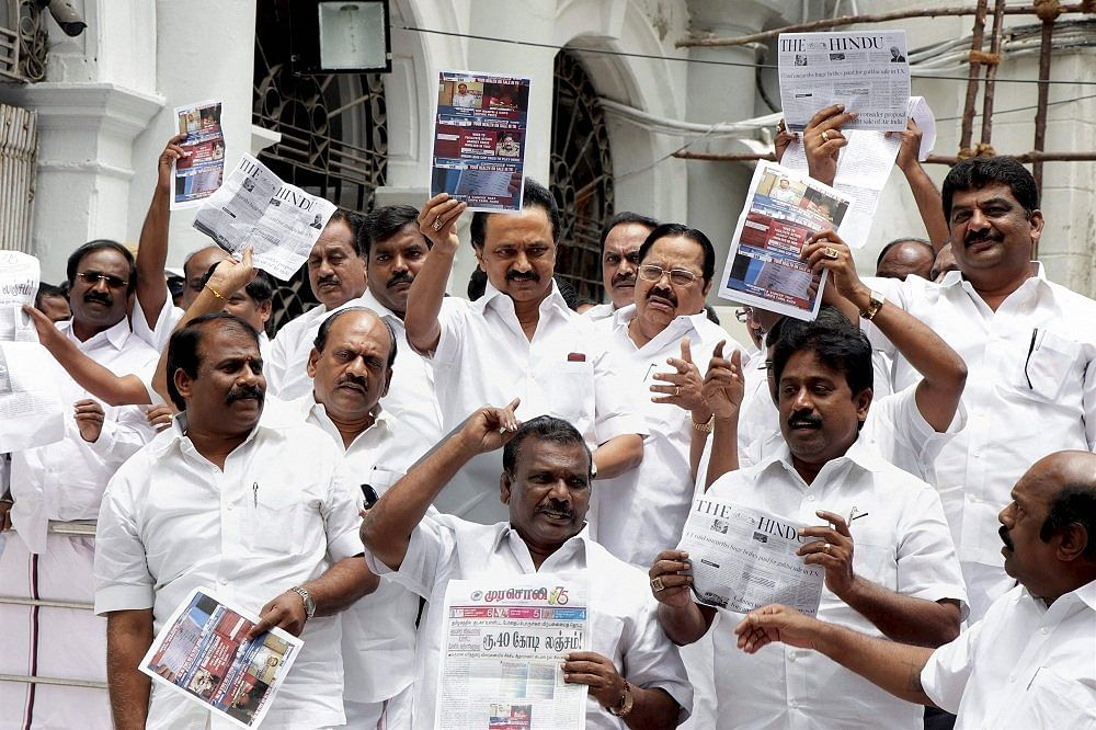 Privilege notice over 2017 Gutkha display in Legislative Assembly: Madras High Court reserves orders in pleas by MK Stalin, other DMK MLAs