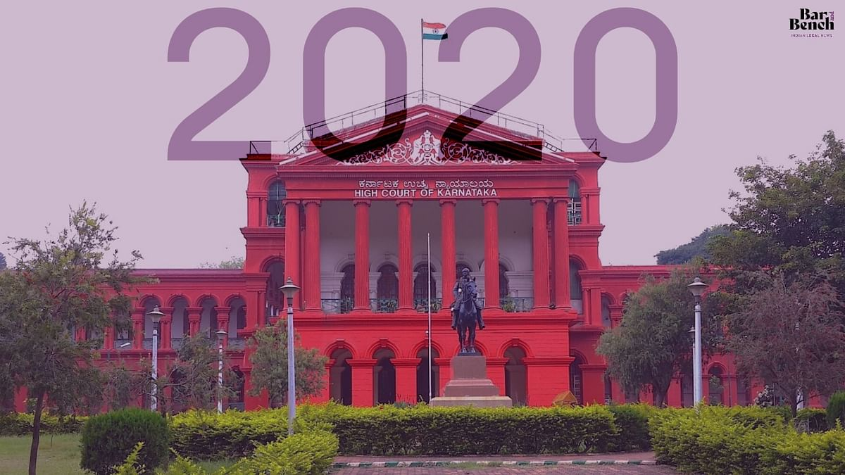 """""""Standing Counsel"""", misogynistic remarks and more: Seven times the Karnataka High Court made it to headlines in 2020"""