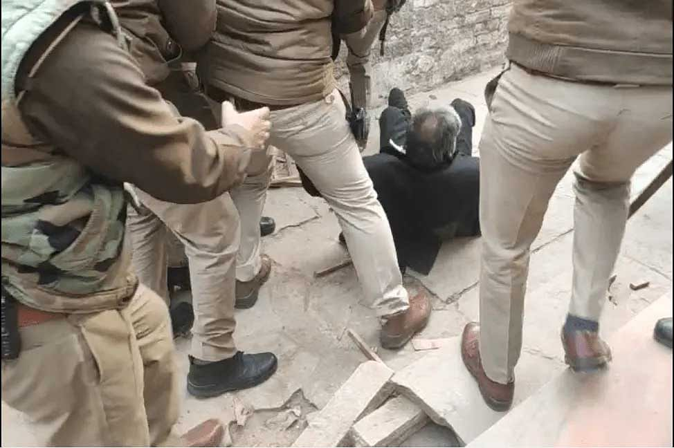 Visuals of the assault on the lawyer at Etah