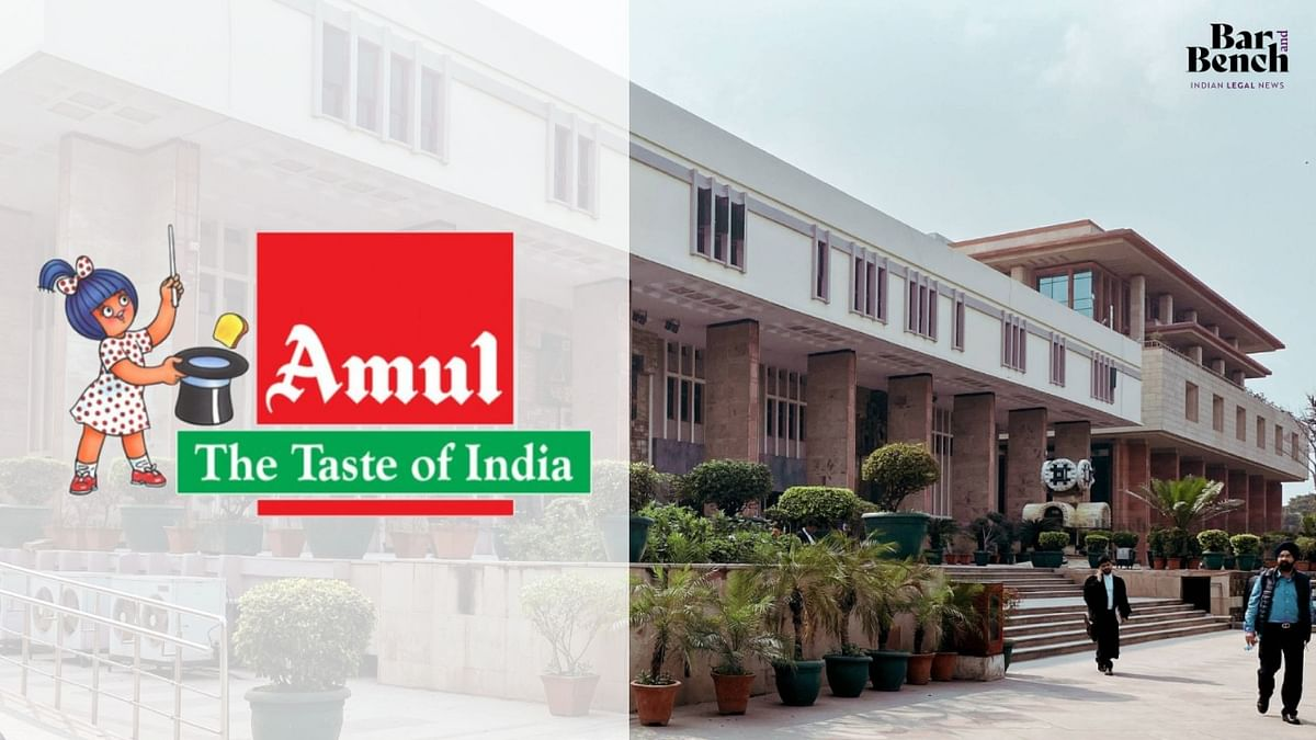 Delhi High Court directs removal of article creating fear psychosis, prejudice against Amul's milk and dairy products