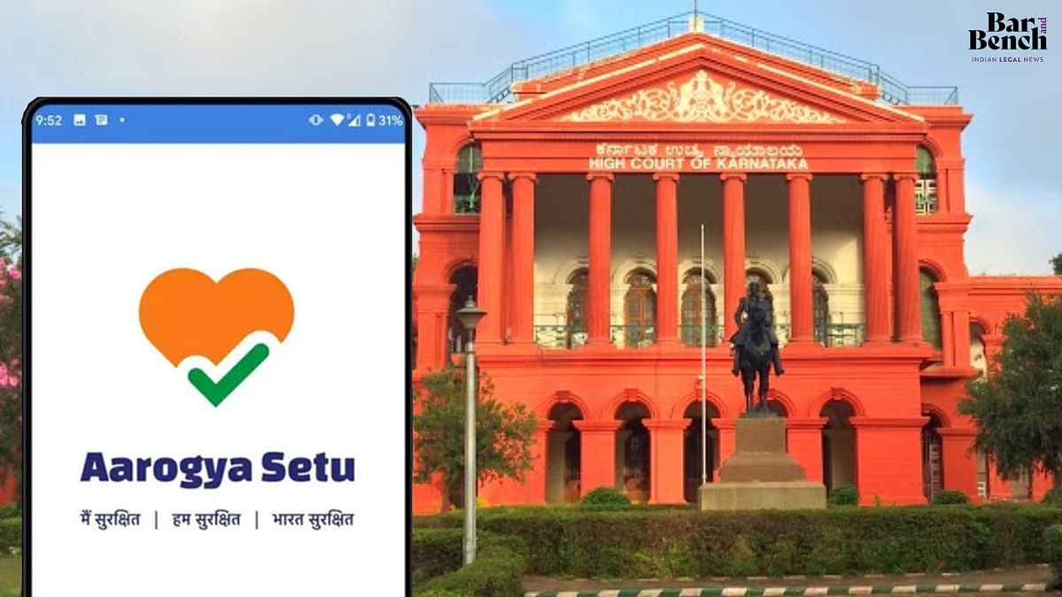Activation of Bluetooth in Aarogya Setu App not automatic, consent of user obtained: Central government to Karnataka High Court