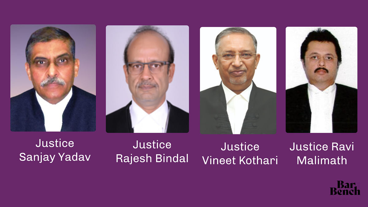 Central government notifies transfer of judges to High Courts of Allahabad, Calcutta, Gujarat, Himachal Pradesh