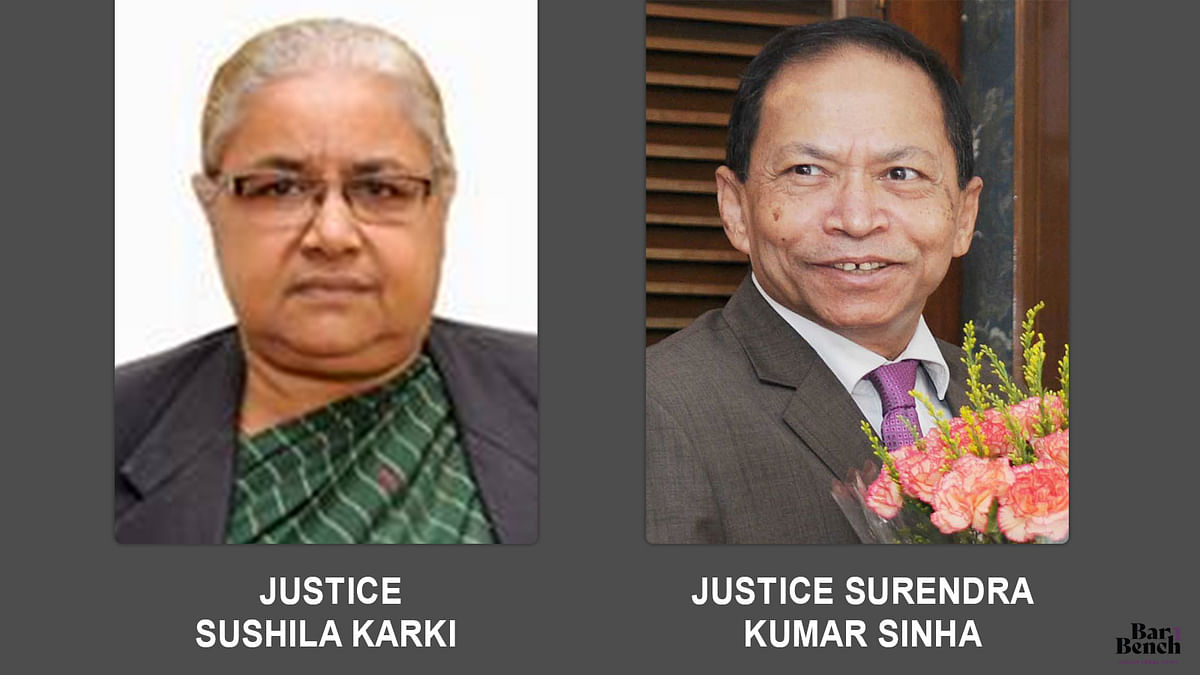 Justice Sushila Karki, Justice Surendra Kumar Sinha