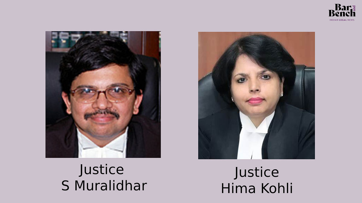 [Breaking] SC Collegium recommends elevation of Justices S Muralidhar, Hima Kohli as Chief Justices of Orissa and Telangana High Courts