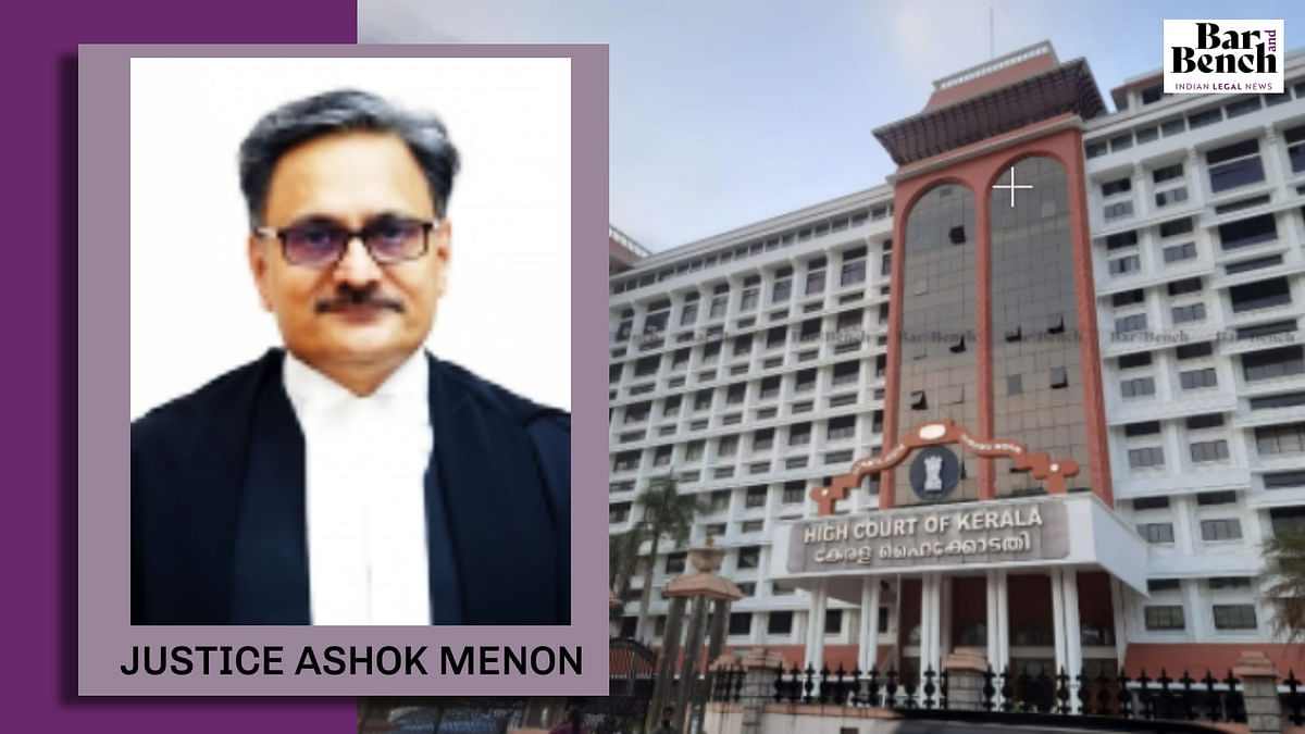 Justice Ashok Menon Retires; Kerala High Court to operate with 38 judges as against sanctioned strength of 47