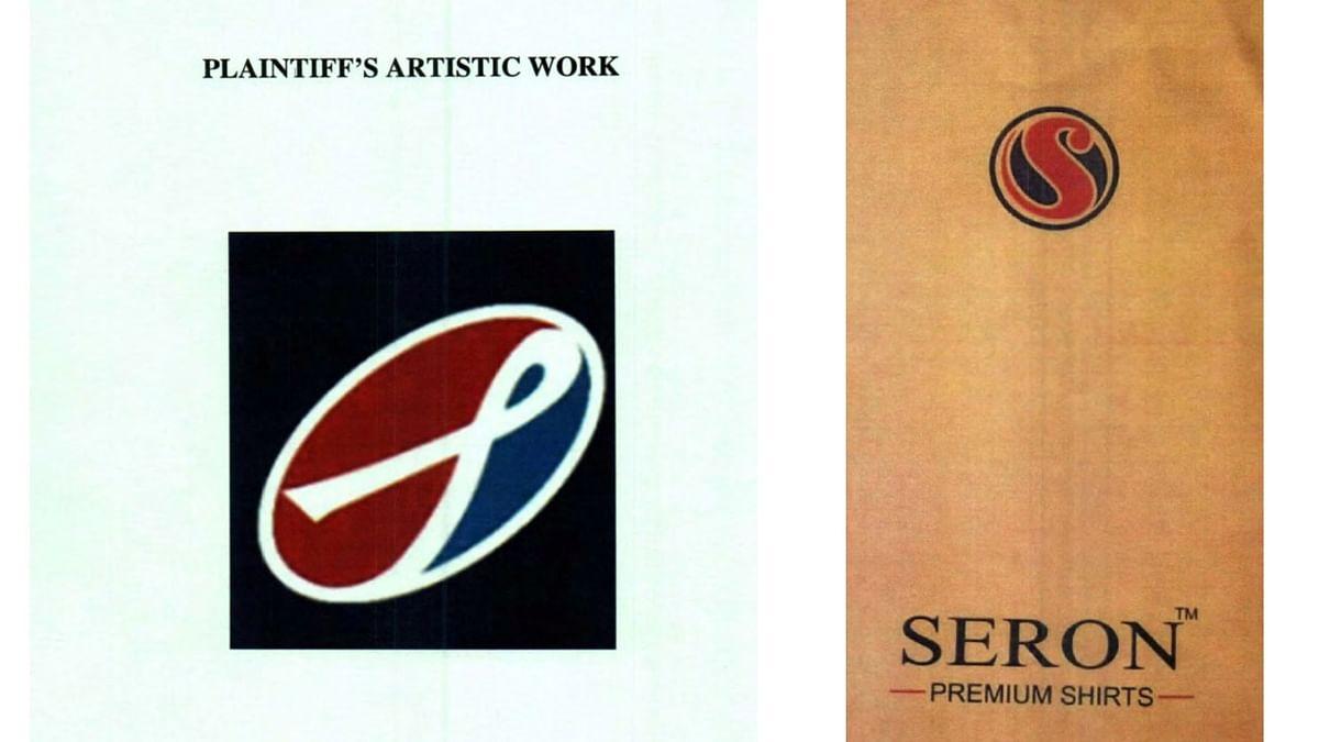 """""""SERO"""" label mark and """"SERON"""" label mark"""