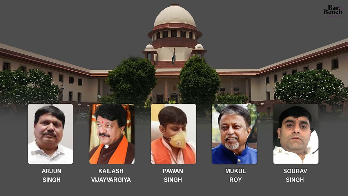 Supreme Court grants relief to 5 West Bengal BJP leaders against coercive actions of State Police